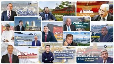 El PCC da ejemplo en desarrollo global (PRNewsfoto/CGTN)